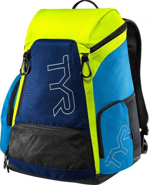 TYR Allianz Team Backpack 30L - Rucksack Training (blau-grün)
